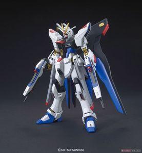 Image 2 - Bandai Gundam HGCE 201 HGUC 1/144 ZGMF X20A Sciopero Freedom Mobile Suit Assemblare Modello Kit Action Figure In Plastica Modello