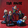 Movie Role Batman The Dark Knight The Joker Mini PVC Figures Collection Toys 5pcs/set Movie Role Holiday gifts