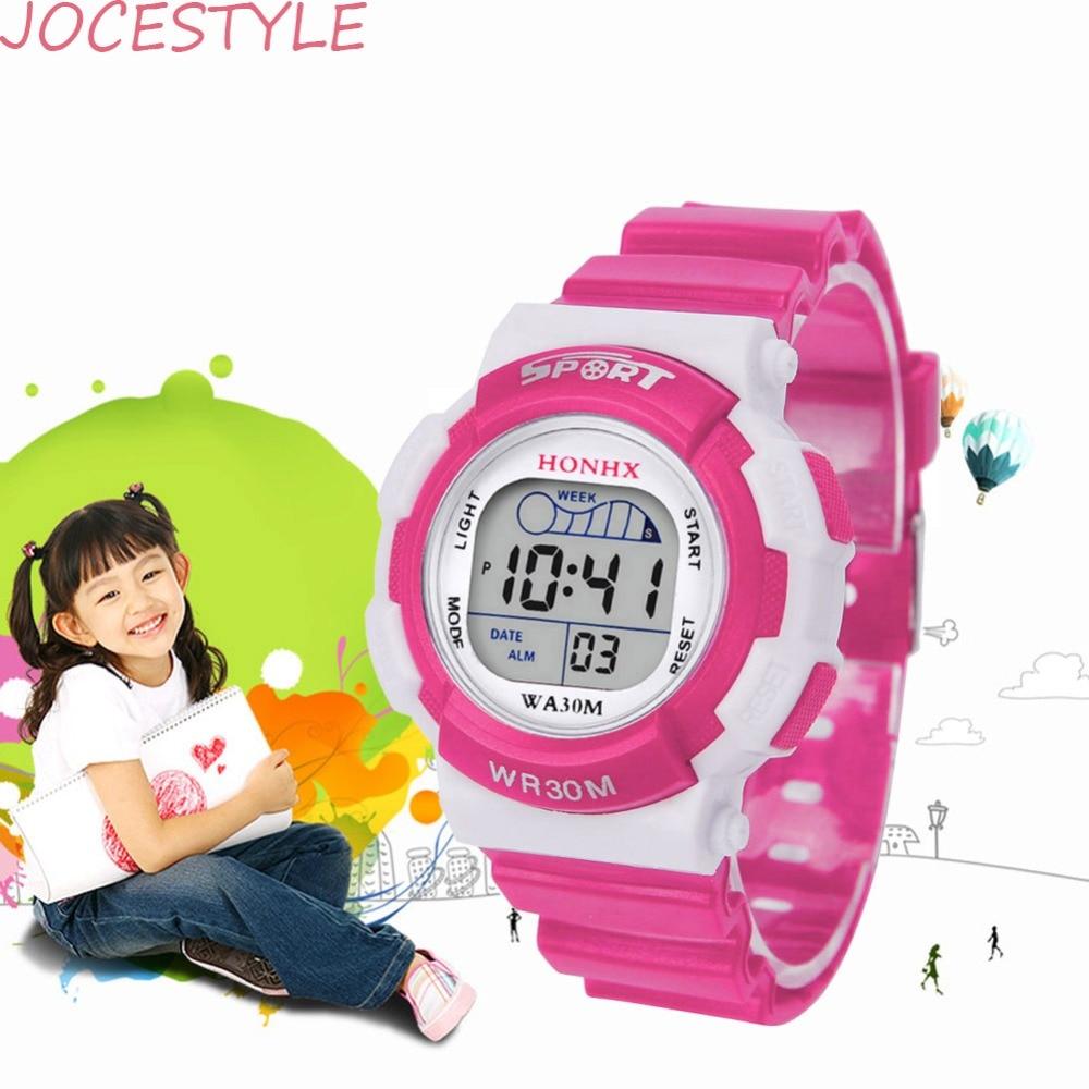 Watch Sport Chronograph Digital-Clock Back-Light Christmas-Gift Swimming Colorful Waterproof