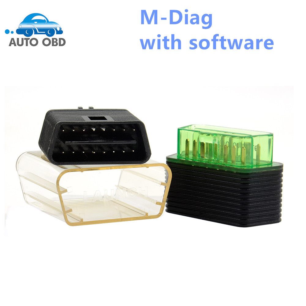 ФОТО Original Launch Golo M-Diag Lite for IOS Android Built-in Bluetooth OBDII Diagnostic Tool with Special Functions