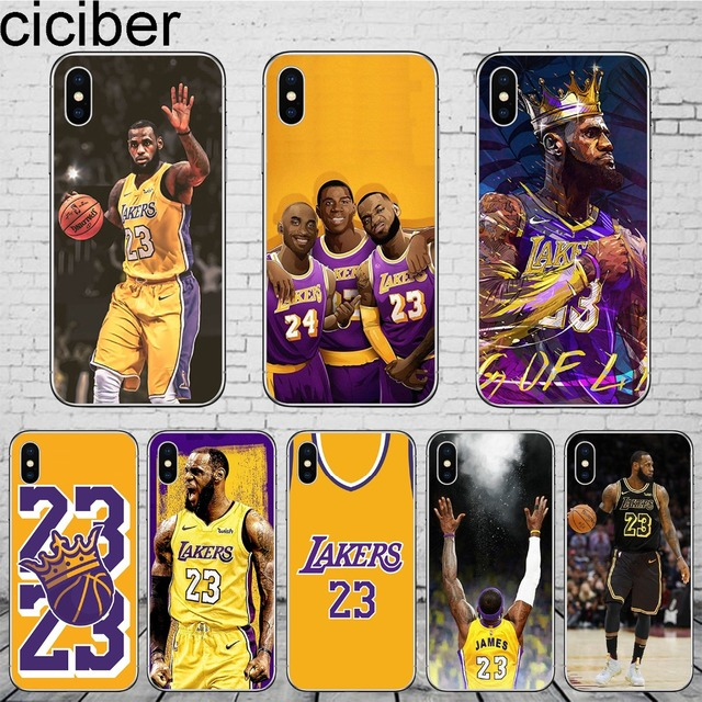 45b634723d3b77 ciciber Basketball LeBron James Phone Case Cover For iphone X XR XS Max 7 8  6