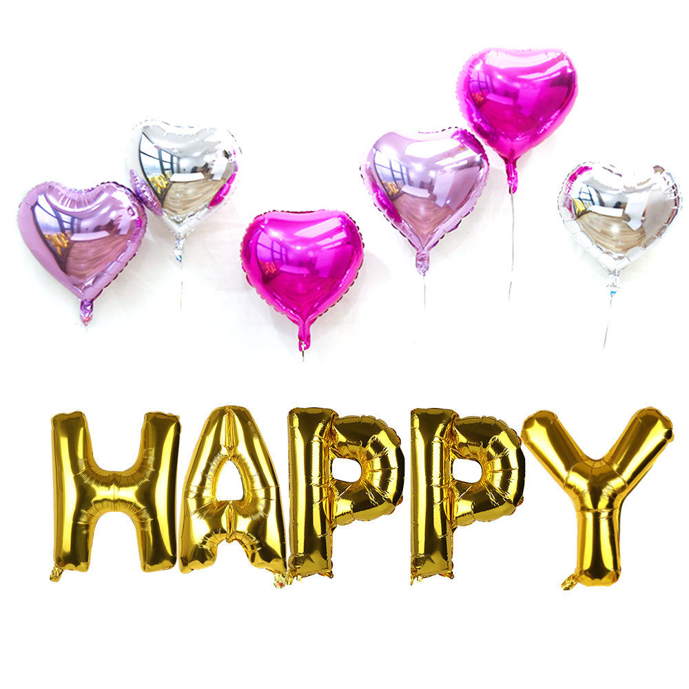 Home & Garden 30inch Letter Foil Balloon Gold Silver Large Helium Balloons Birthday Party Decoration Inflatable Toy Wedding House Baby Shower Terrific Value