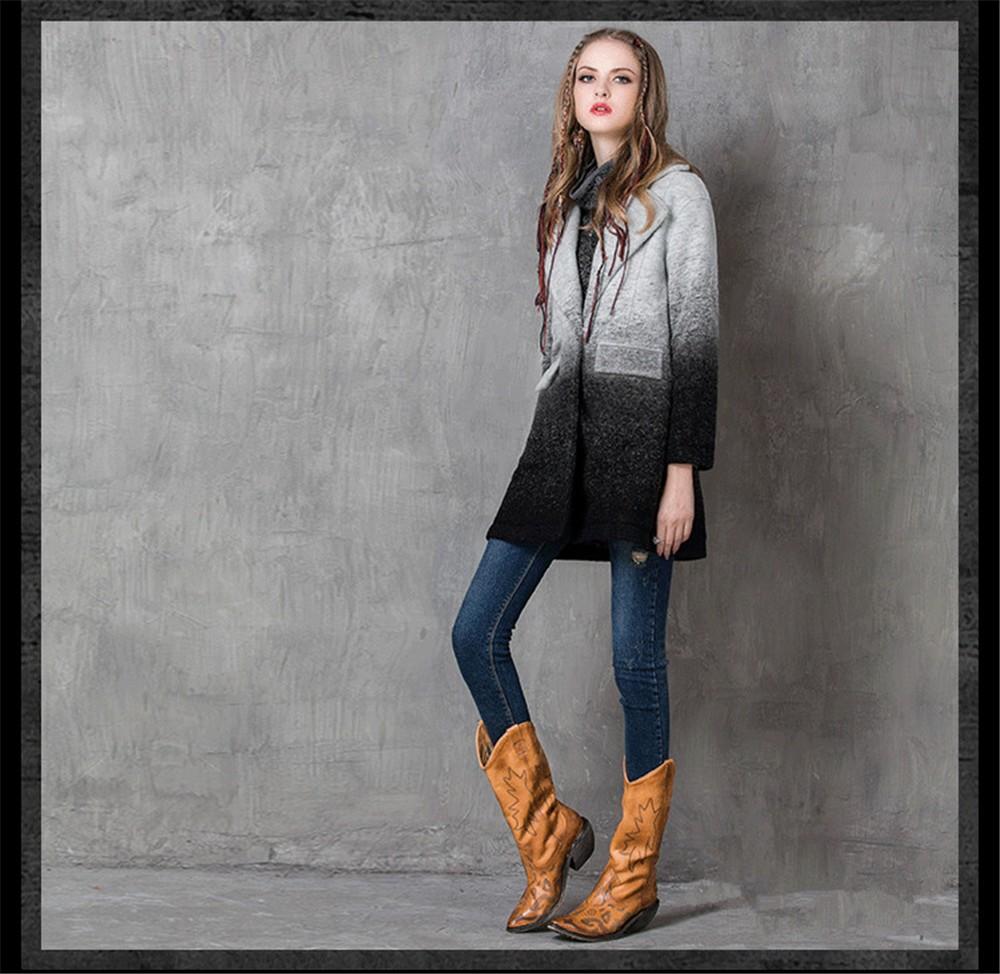 Vintage Warm Women Cashmere Coat 2016 High quality Winter Coat Women Long Sleeve Jacket Winter long Woman coats Cashmere coats (7)