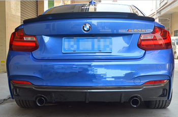 F22 C74 Styling Koolstofvezel Auto Kofferbak Spoiler Wing Voor BMW 2 Serie 2 Deur Coupe 235i 220i 228i M235i 2014UP