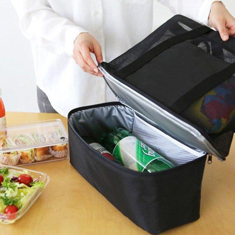 Baby Insulation Bags Feeding Milk Thermal Fashion Mummy Handbag Portable Multifunction Breast Milk Keep Warm Casual Tote BB5027