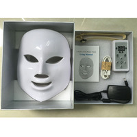7 Colors Lights LED Facial Mask Face Skin Care Led Light Therapy Led Photon Facial PDT