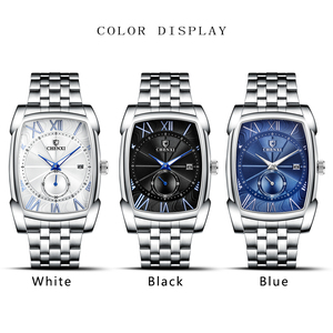 Image 5 - Relojes hombres CHENXI marca reloj de cuarzo reloj para hombre de lujo de estilo nuevo Relogio Masculino militar reloj