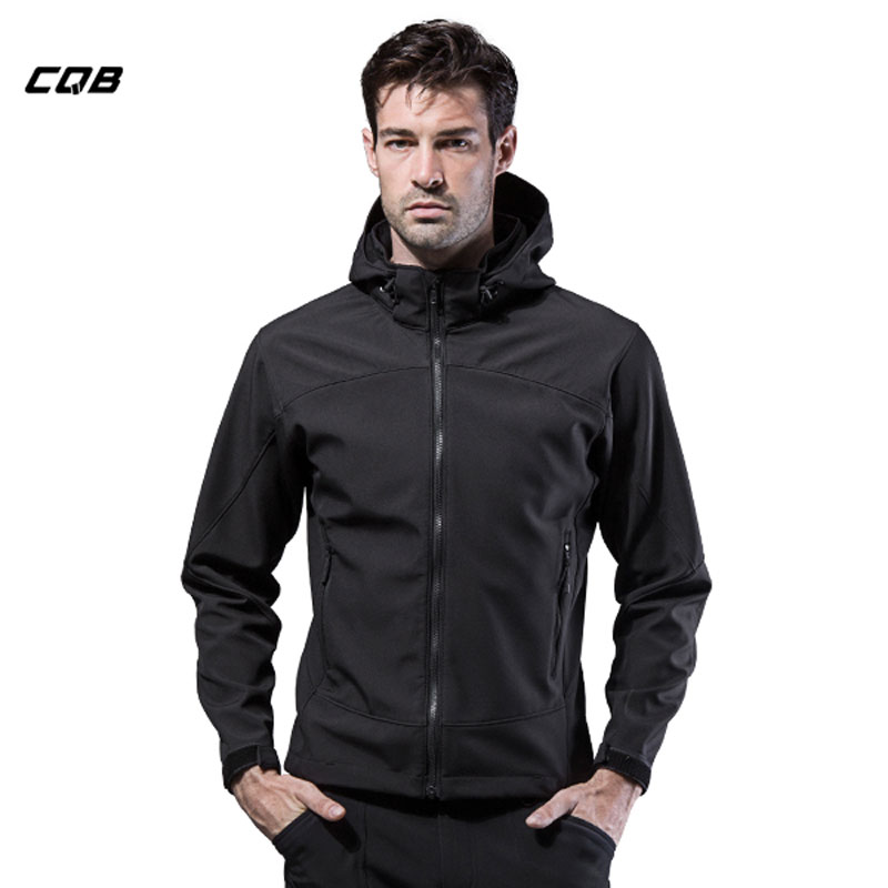 CQB Lackwar Outdoor Sports Softshell Jackets Men Camping Tactical Hiking Waterproof Climbing Winter Clothes Hunting Coat