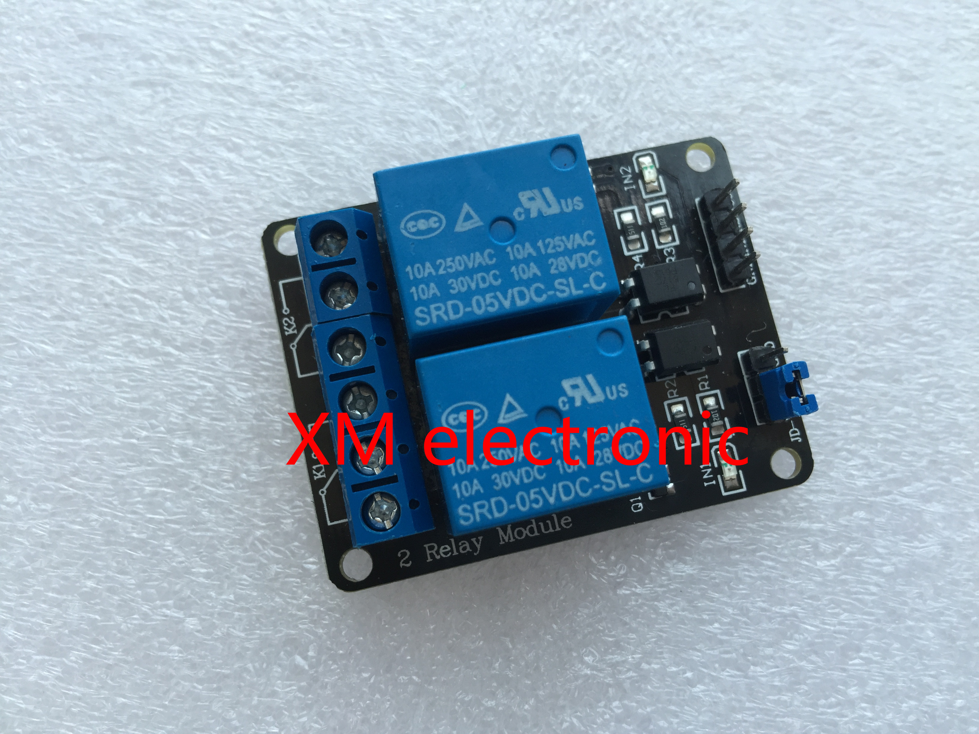 2channel New 2 Channel Relay Module Relay Expansion Board 5v Low Level  Triggered 2