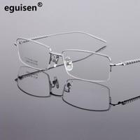 b808ed412 Wholesale Frames Men Of Light Alloy Myopic Optical Half 8864 Glasses Frame  Spectacle Frame Oculos De
