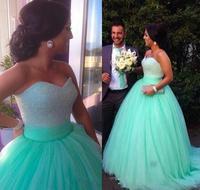 2018 великолепный зеленый длинное бальное платье для выпускного вечера, лиф сердечком блестящее вечернее платье vestido de festa вечерние платья дл