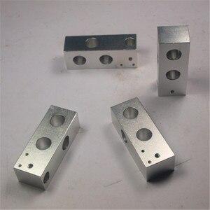 Image 2 - Imprimante 3D reprap mendel prusa CNC métal coin kit de support plus robuste reprap prusa i3 coin aluminium pièces ensemble