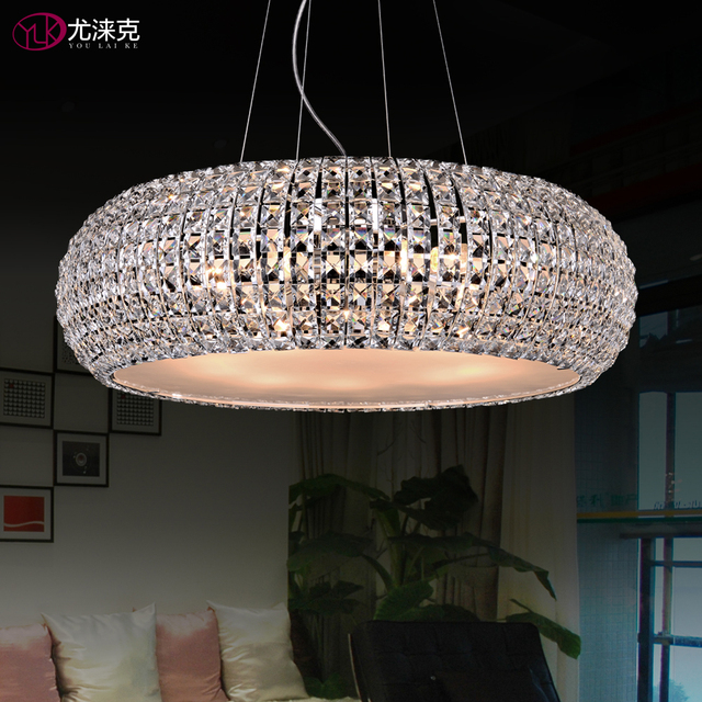 Free Shipping Dia43*h120cm Modern Crystal Chandelier Light Dining - esszimmer 43