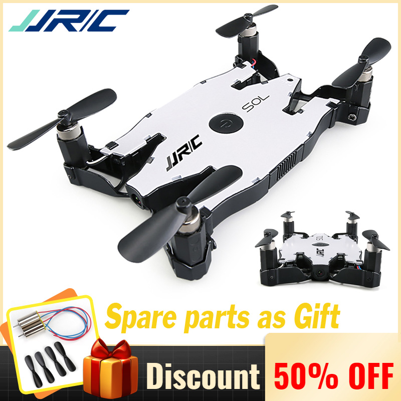 JJR/C JJRC H49 Ultrathin Wifi FPV Selfie Drone 720P Camera Foldable Arm RC Quadcopter VS H37 H47 E57 Helicopter for KidsJJR/C JJRC H49 Ultrathin Wifi FPV Selfie Drone 720P Camera Foldable Arm RC Quadcopter VS H37 H47 E57 Helicopter for Kids