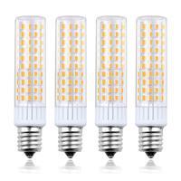 Светодиодный светильник E17 с регулируемой яркостью 110 В 220 В, лампочка с промежуточным основанием, светодиодный светильник 8,5 Вт E17, лампочка ...