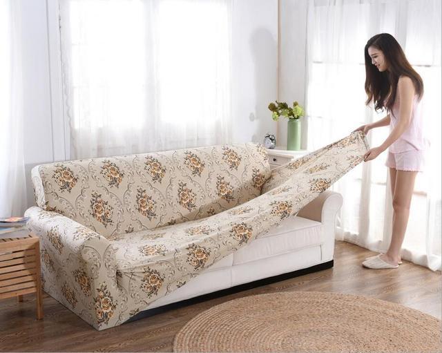 Universal Sofa Set All Inclusive Anti Skid Elastic Sofa
