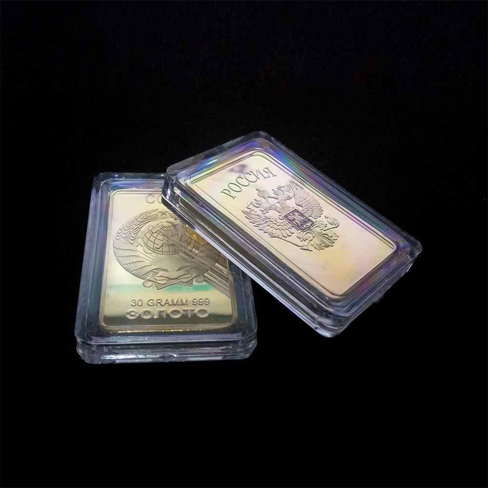 LeadingStar Russland Medaille Münze Wohnkultur Sowjetischen Souvenir UDSSR Bullion CCCP 24K Gold Bars Gedenk Münzen Sammlung