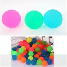 Toy-Ball Jumping-Balls Rubber Sport-Games Elastic Colorful Children Bath-Bouncy-Toys
