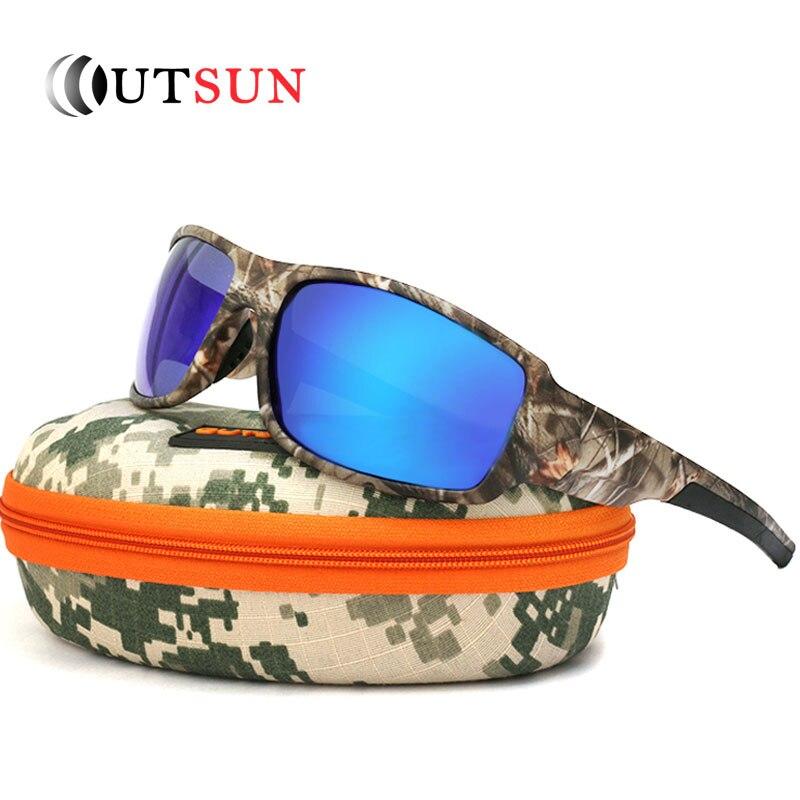 OUTSUN 2017 Polarized Sunglasses Men Women Sport font b fishing b font Driving Sun glasses Brand