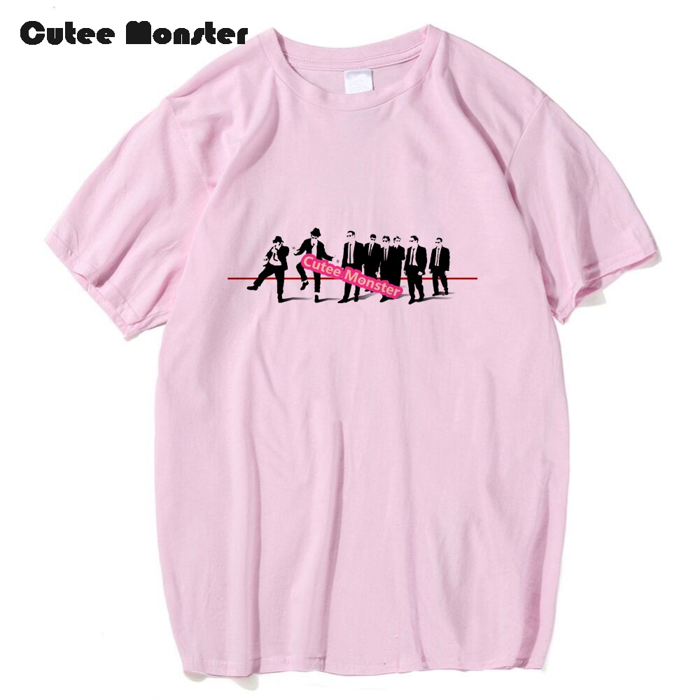 cutee-monster-men-t-shirt-reservoir-dog-classic-retro-movie-t-shirt-men-quentin-font-b-tarantino-b-font-tees-short-sleeve-cotton-top-clothing