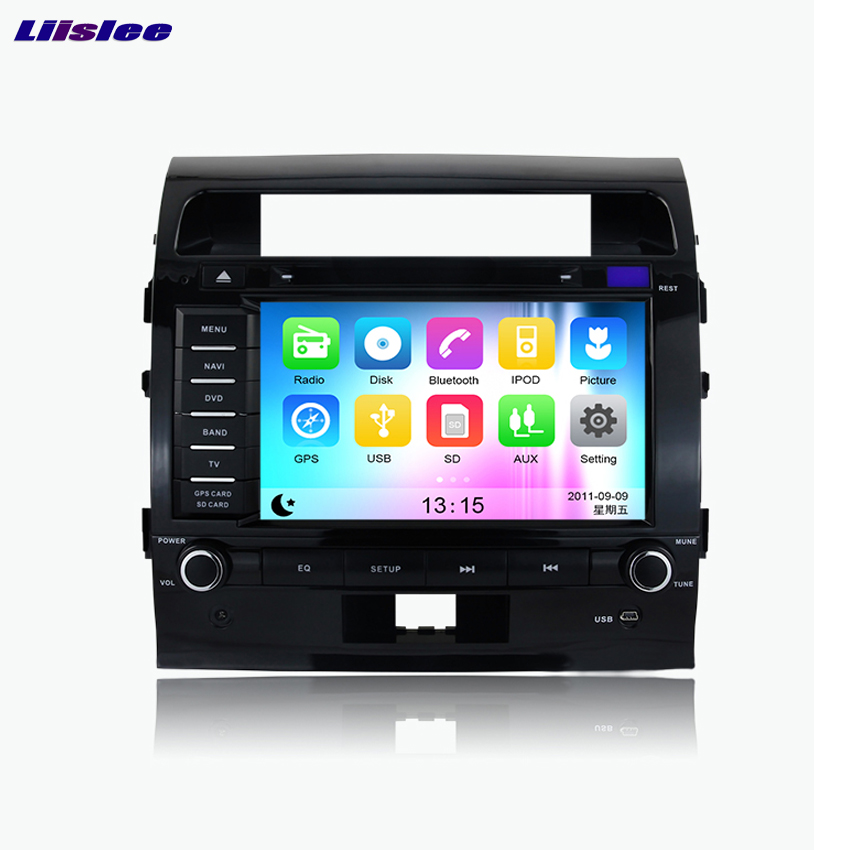 Liislee Android Car GPS Navigation player For Toyota Land Cruiser 200 2008~2012 Multimedia Audio Video Radio Multi Touch Screen