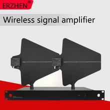Wireless microphone amplifier antenna receives signal amplification distance of 500 meters. 5-channel enhanced annunciator