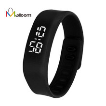 MALLOOM watch women waterproof silicone LED watch men military watches sport wristwatch Electronics watch Relogio masculino #YH