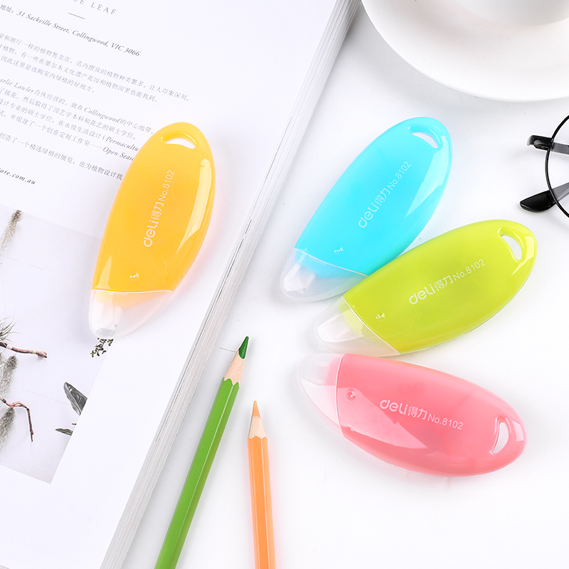 South Korea  Stationery Cute Candy-colored Correction Tape Correction Tape Correction Learning Graffiti