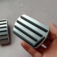 Педаль акселератора тормоз из нержавеющей стали педаль Автозапчасти автомобильные аксессуары для Volvo V60 XC60 V40 S40 S60 S80L AT
