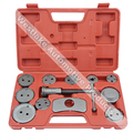 12pcs Brake Service Tool of Universal Brake Caliper Wind Back Kit