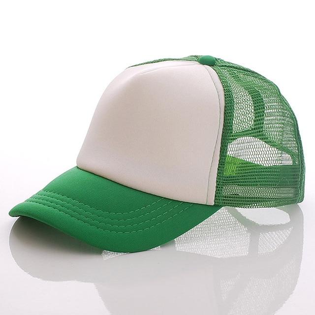 Green white green Baseball net 5c64f225d8786
