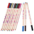 12 pcs/set Waterproof Non-Fade Eyeshadow Eyeliner Makeup pencils Colorful Professional Eye Cosmetics pencils suit