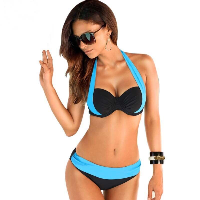 17 New Sexy Bikinis Women Swimsuit high waist brazilian bikini push up Bathing Swim Suit Bikini Set Plus Size Swimwear XXXL 5