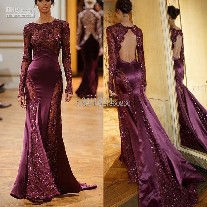 Vestir Elegantes Vino De Populares Vestidos Noche Color Modelos R534ajl