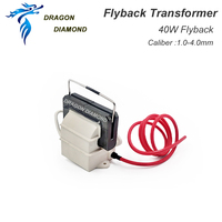 40W High Voltage Flyback Transformer For 40W Co2 Laser Power Supply