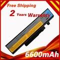 6600 мАч Аккумулятор Для Ноутбука LENOVO IdeaPad Y460 Y460A Y460G Y460N Y560 Y560A B560 V560 V560A L09S6D16 57Y6440 L09N6D16 Y560G
