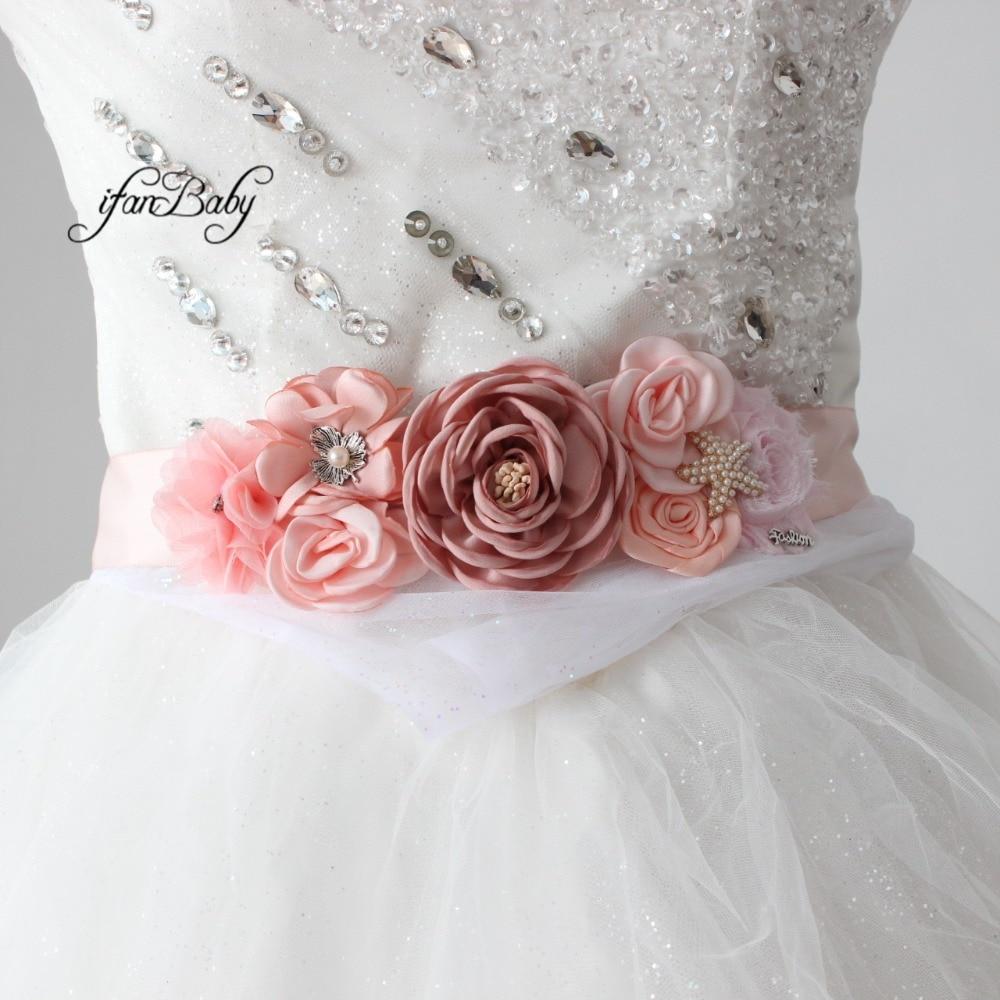 women belt flower sash belt (1)