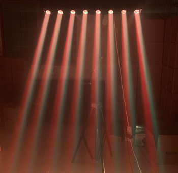Led Moving Head   LED Bar Beam 8x12W RGBW 4in1 Quad Led Wash Moving Head LED Stage Light DJ DMX Controller Fast Shipping