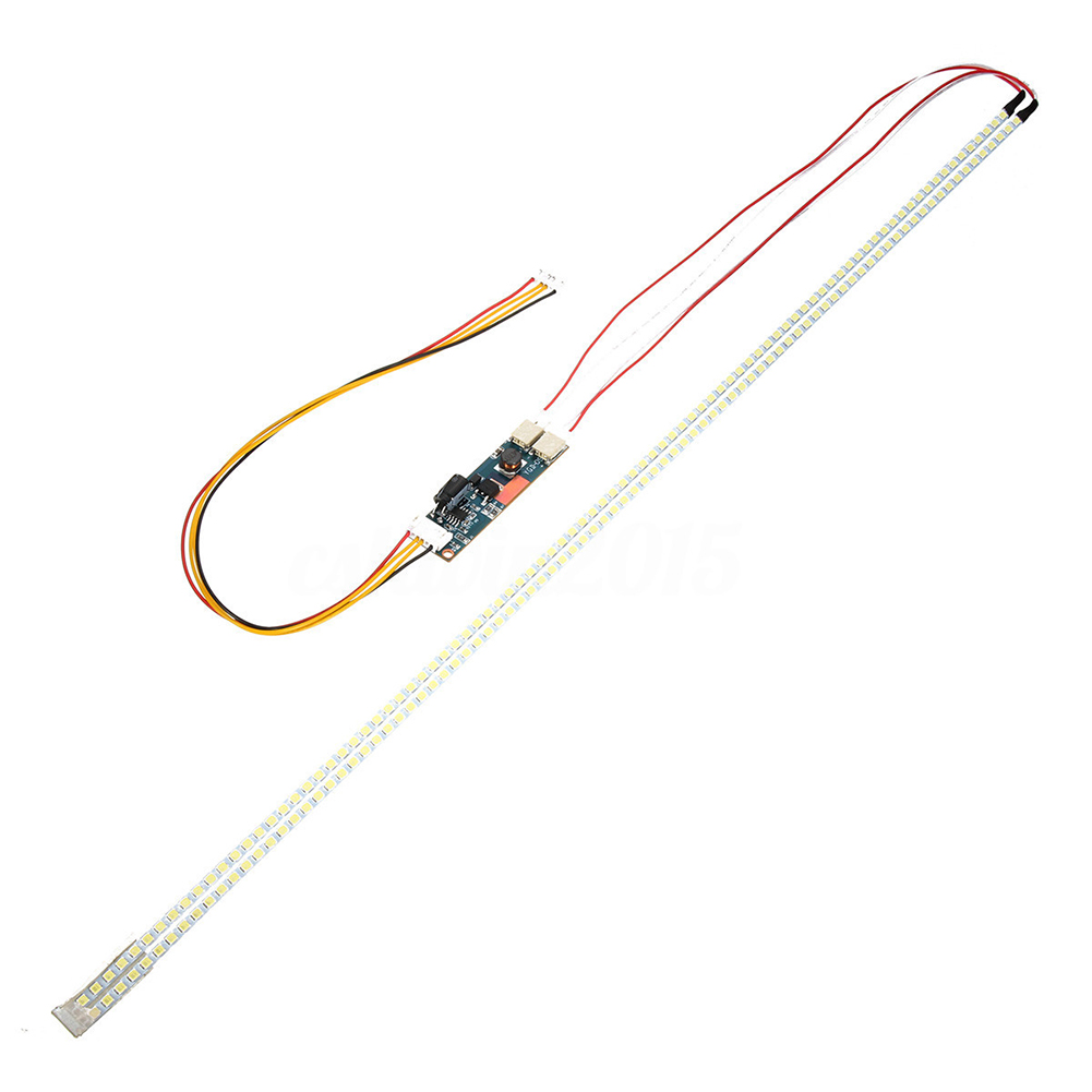Novo 540 milímetros LEVOU Kit Tira Backlight Para 24