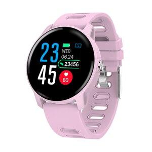 Image 3 - SENBONO S08 IP68 مقاوم للماء ساعة ذكية الرجال جهاز تعقب للياقة البدنية مراقب معدل ضربات القلب Smartwatch النساء ساعة للهاتف أندرويد IOS