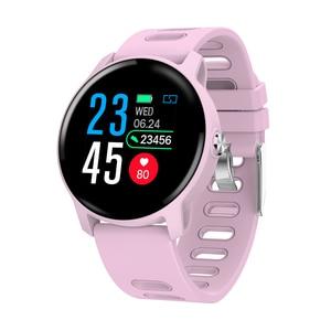 Image 3 - Senbono s08 ip68 à prova dip68 água relógio inteligente homem de fitness rastreador monitor de freqüência cardíaca smartwatch feminino para android ios telefone