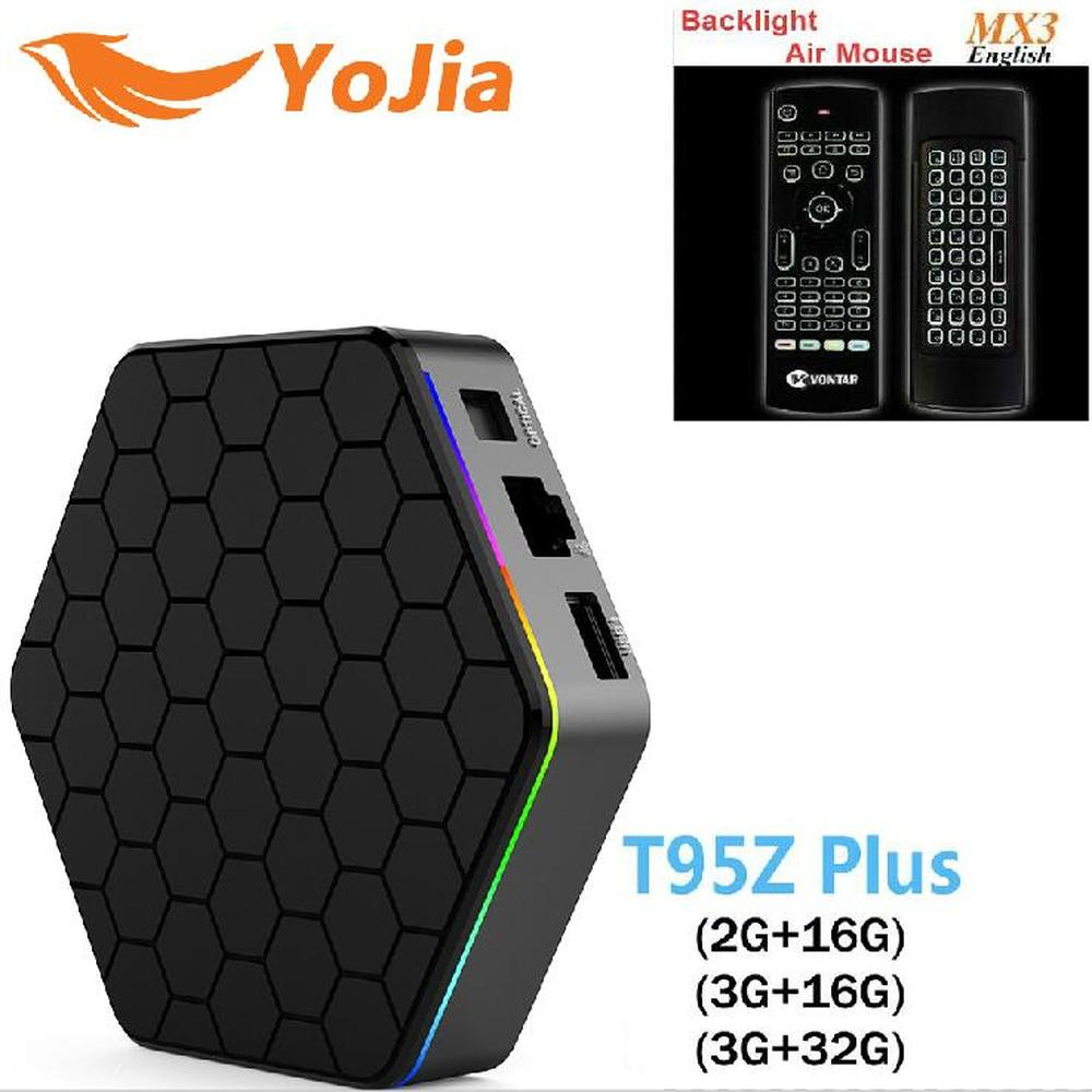T95Z Plus Amlogic S912 Android 7.1 TV BOX 2GB/3GB 16GB/32GB Octa Core