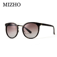 MIZHO High Quality Anti-Reflective HD Retro Vendi Sunglasses Cat Eye Mirror Polaroid Anti Glare oculos de sol With Original Box