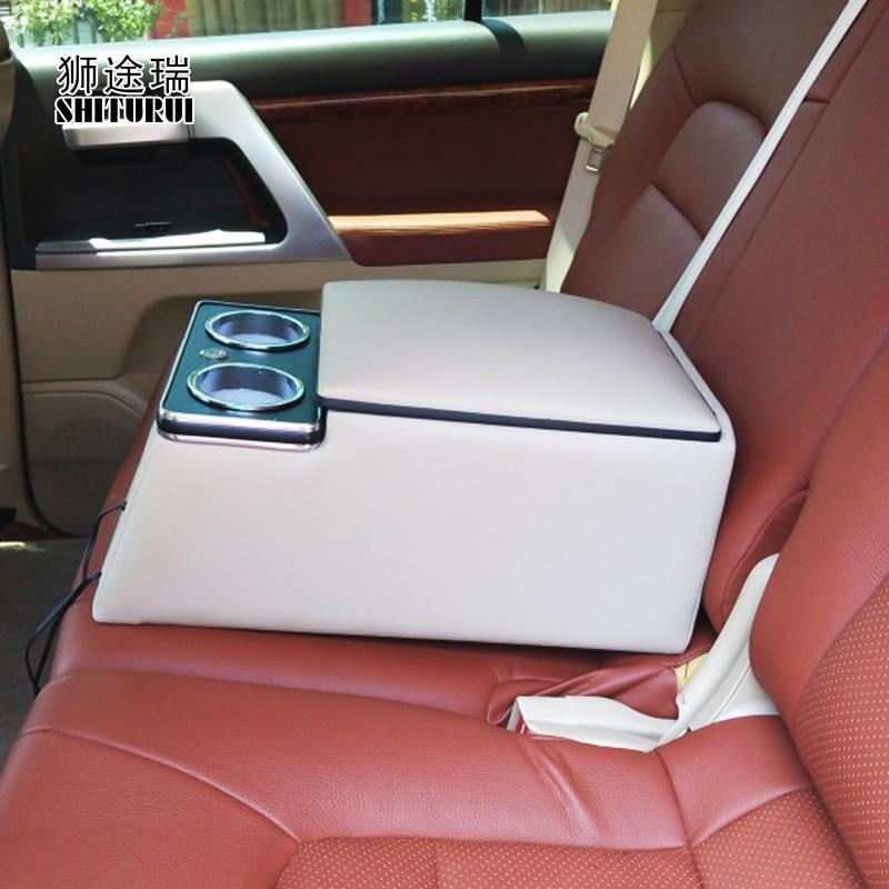 Для JEEP Compass Cherokee Grand Cherokee Патриот Wrangler 4 двери RenegadeRear перила коробка мобильного телефона зарядки USB