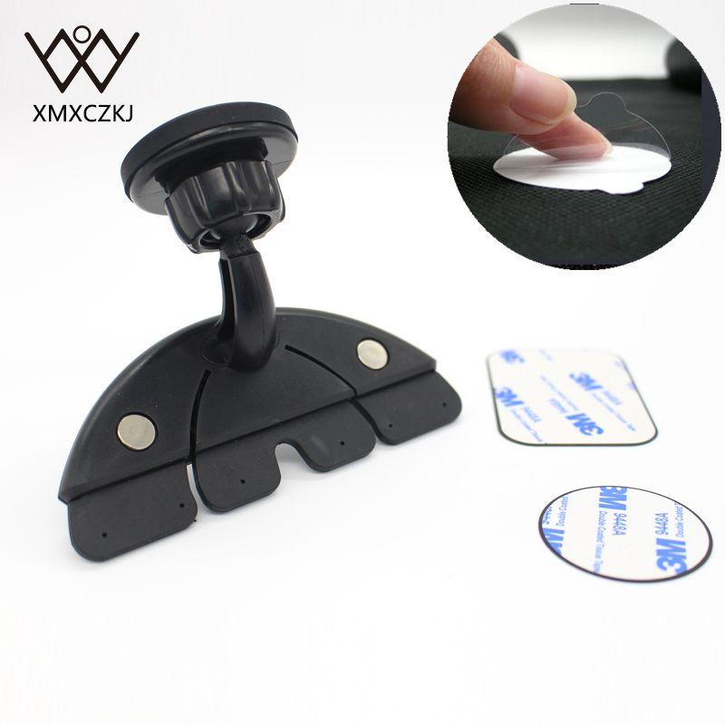 XMXCZKJ Universal CD Slot Magnetic Car Mount Holder for iPhone 8 7 6 - Ανταλλακτικά και αξεσουάρ κινητών τηλεφώνων - Φωτογραφία 5