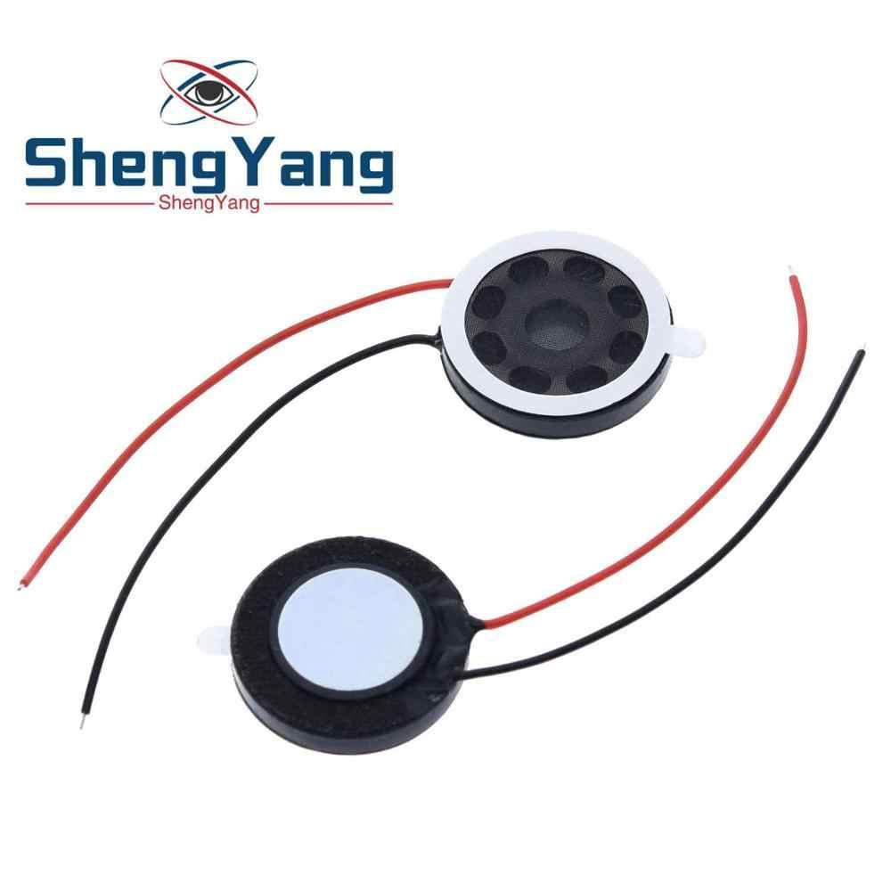 ShengYang 1 قطعة مستديرة 8 أوم 1 واط المتكلم 8ohm 20 مللي متر بصوت عال مكبرات الصوت الهاتف المحمول مكبر الصوت الصغيرة الصوت