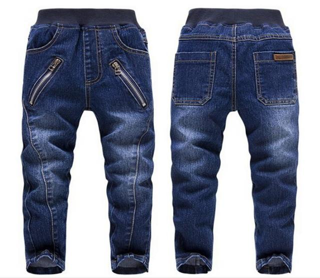 Novo 2015 Da Marca KKRABBIT Crianças Outono Jeans Casual Calças 3-7Yrs Meninos Moda Jeans de Alta qualidade Crianças Calças Do Bebê 1450