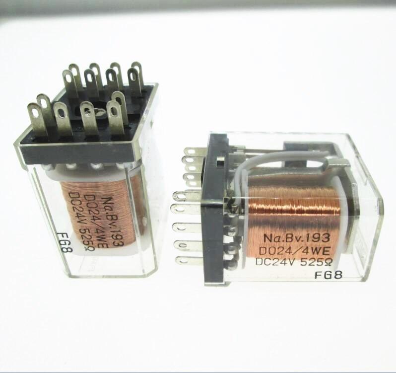 HOT NEW 24V relay Na BV 193 D024 4WE DC24V 525 Na BV 193 D024 4WE