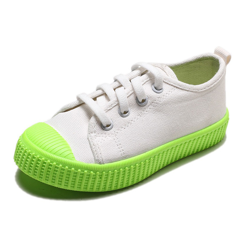 COZULMA Crianças Sapatas de Lona Sapatos de Bebê Meninos Sapatilhas Do Bebê Da Menina Do Esporte Crianças Respirável Sapatos Brancos para As Meninas Menino Sola Macia sapatos