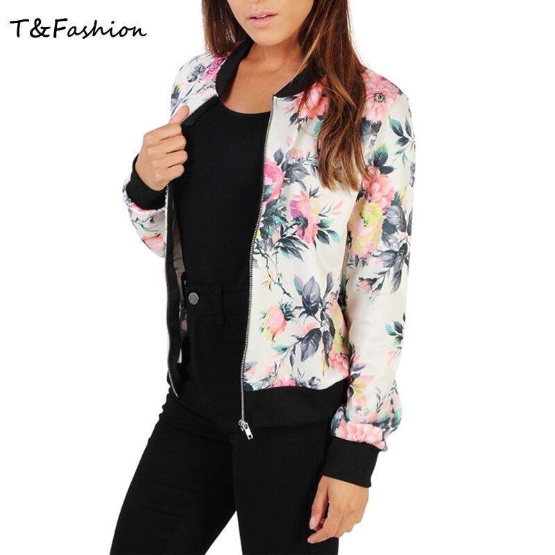 New 2016 Autumn font b Women b font font b Jacket b font Vintage Sweet Floral